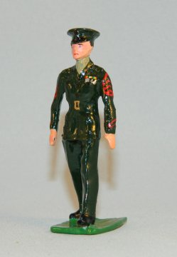 USMC NCO in Greens - Sergeant