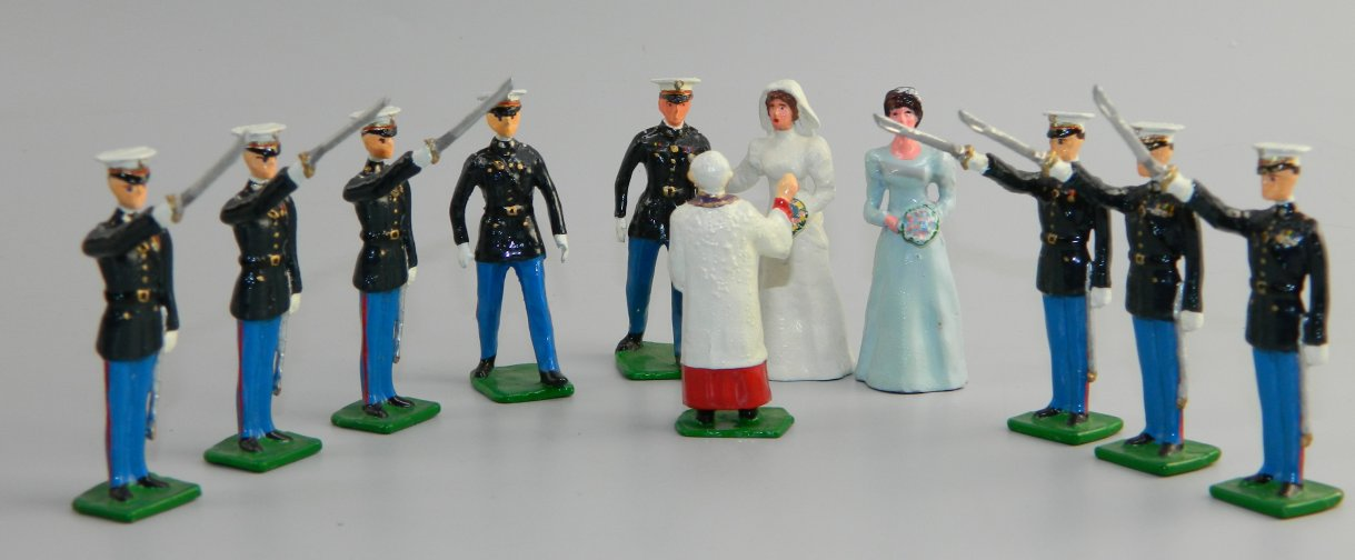 US Marine Corps 11 Piece Wedding Party