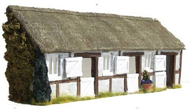 Thatched Stable Facade
