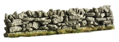6 Inch Straight Dry Stone Wall