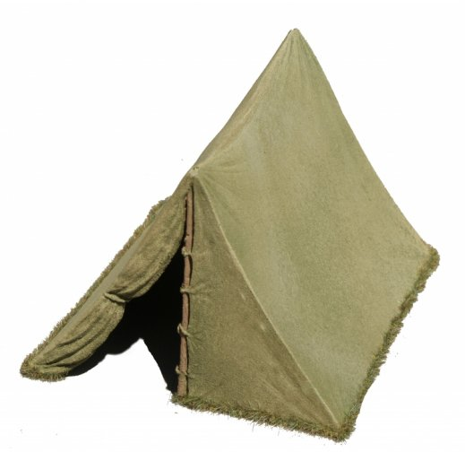 Large WWII BIVI Tent - Olive Drab