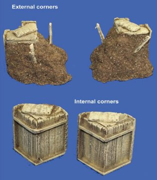 Slit Trench Corners - Mud Version