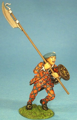Highlander with Lochaber Axe