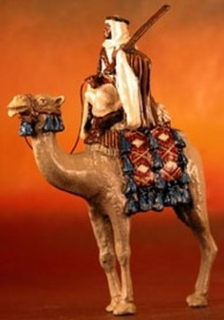 Ageyl Tribesman Bodyguard on Camel