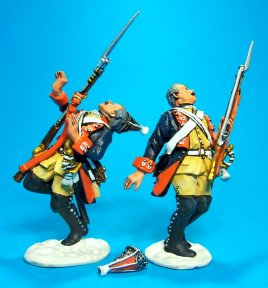 Army of Frederick the Great - Prussian Grenadier Casualties #1