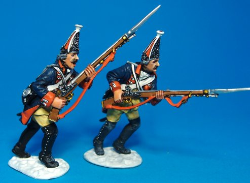 Army of Frederick the Great - Prussian Grenadiers Advancing #4