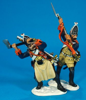 Prussian Grenadiers, Attacking Gateway