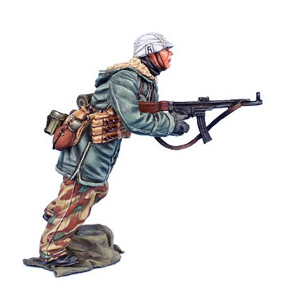 German Panzer Grenadier Rider with MP44