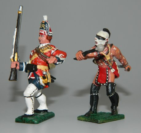 Grenadier & Woodland Indian Clubbing