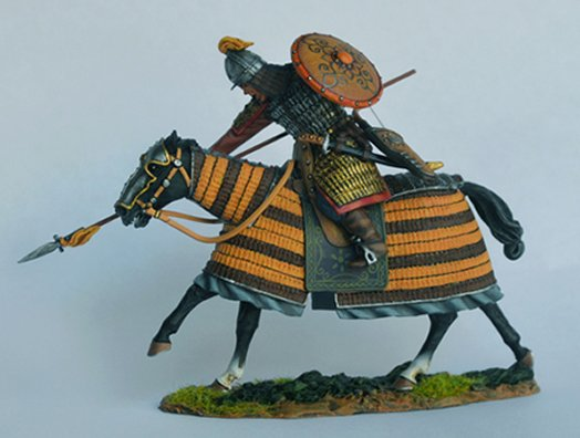 Mongol Heavy Cavalry Charging #1