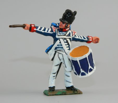 Drummer, 4th U. S.  Regiment, War of 1812