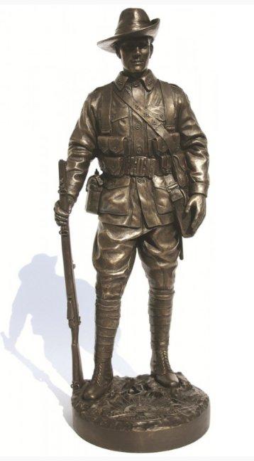 Infantryman AIF France, 1918 NA0023 Khaki Army Naked Army