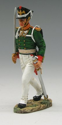 Marching Officer with Sword
