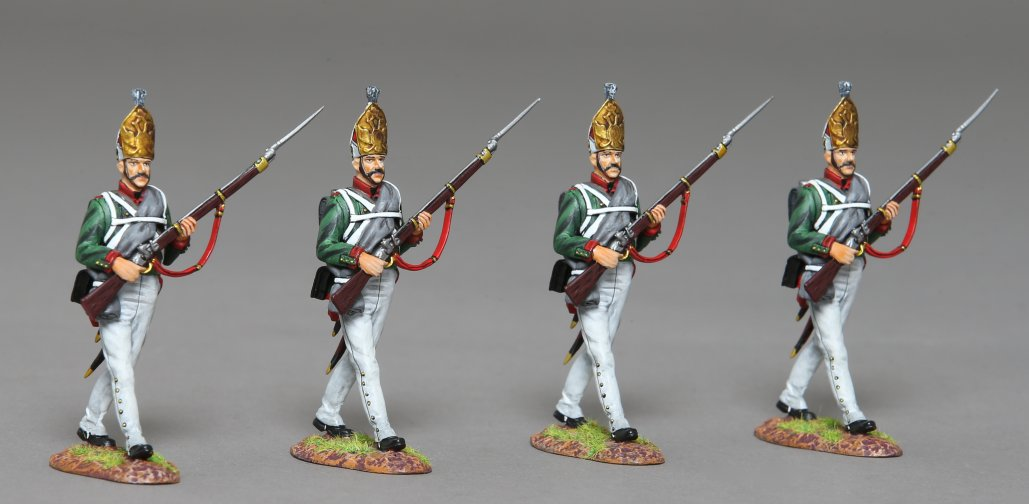 Four Pavlowski Guardmen
