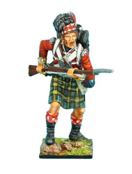 92nd Gordon Highlander Advancing