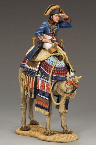 Napoleon on Camel