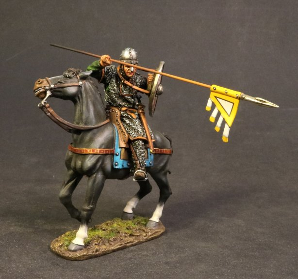 Norman Knight, Mounted