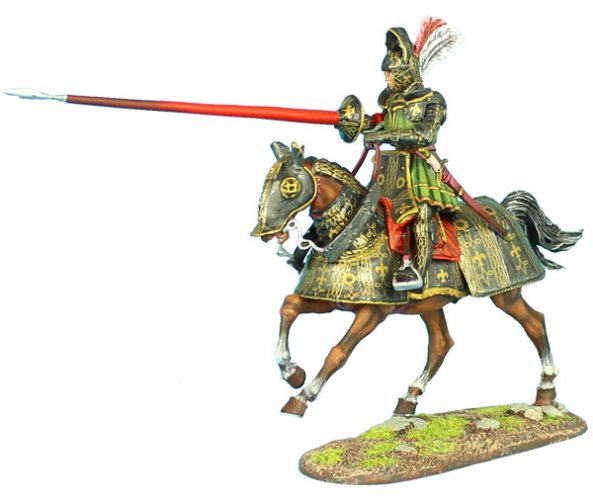 French Mounted Knight with Lance #2