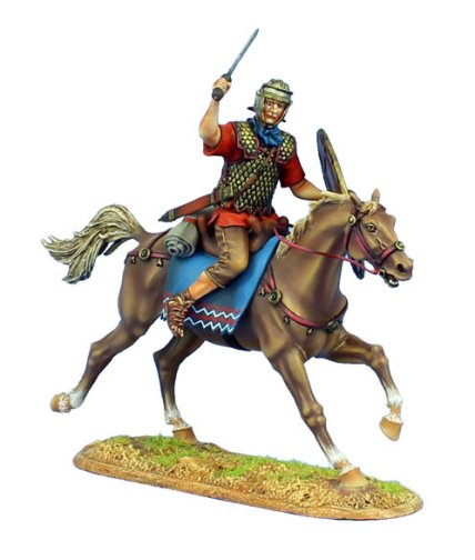 Imperial Roman Auxiliary Cavalry with Sword - Ala II Flavia