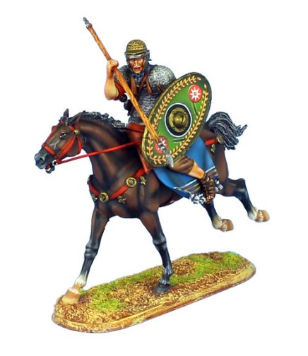 Imperial Roman Auxiliary Cavalry with Spear - Alla II Flavia