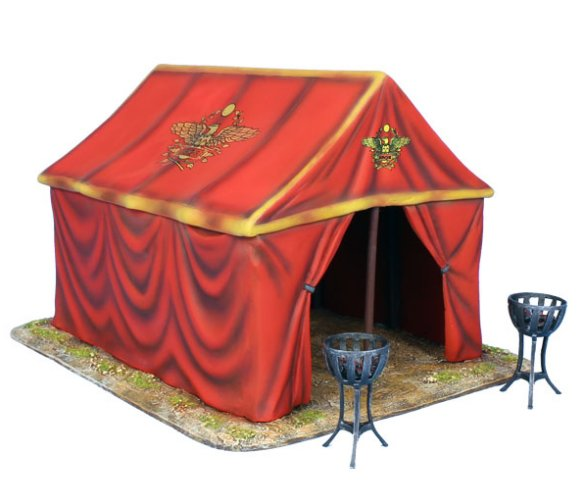 sc 1 st  Treefrog Treasures & Imperial Roman Command Tent and 2 Braziers