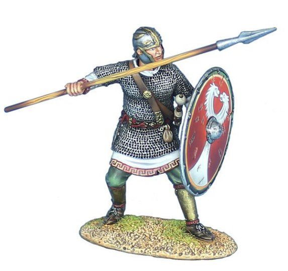 Late Roman Legionary with Spear #2