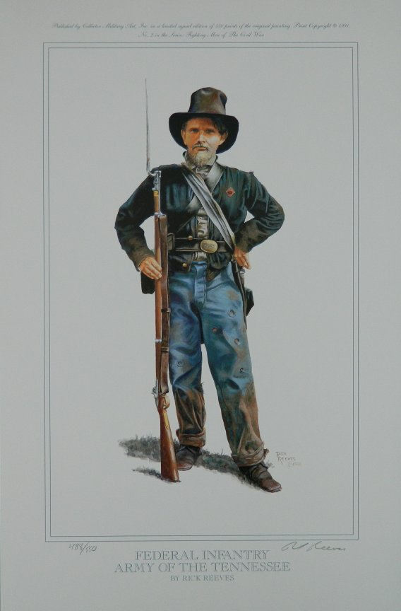 Federal Infantry, Army of The Tennessee
