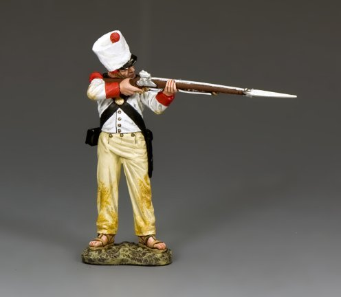 Standing Firing Mexican Soldier