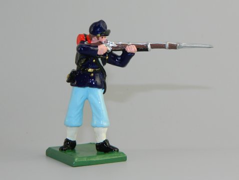 Union Infantry Standing Firing