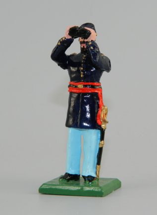 Union Officer Standing w/Binoculars