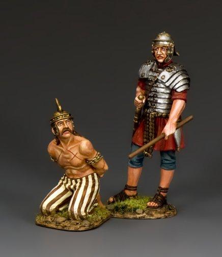 """Kneel & Obey"" Captive Gallic Prisoner"
