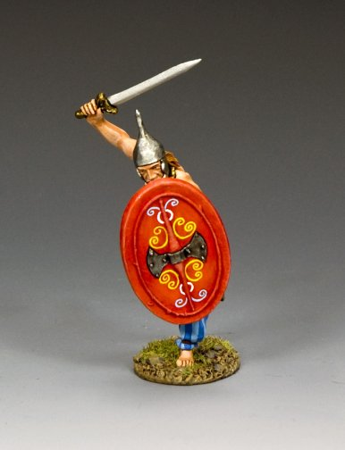 """Victory!"" Gallic Warrior Charging"