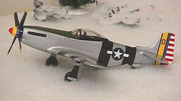 Fighter Planes P-51D Mustang US Army Air Corps 5th Air Force