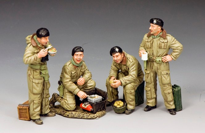 Combined Dismounted British Tank Crew