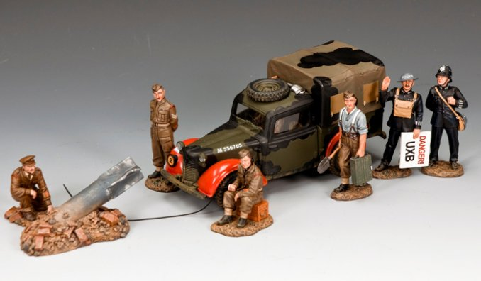 """DANGER! Unexploded Bomb"" Bonus Set"