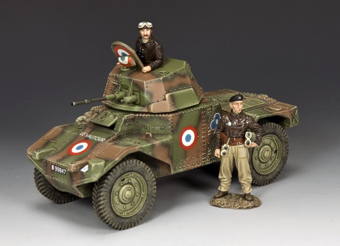The Panhard Set French Army Gift Set