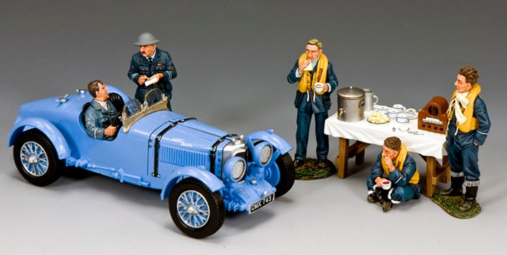 """Tally Ho for Tea!"" RAF Racing Set"