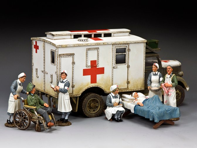 """At the Field Hospital"""