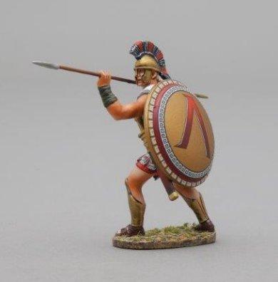 Spartan Warrior Thrusting Spear - Lambda Shield