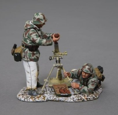 German 80mm Mortar Set - Winter