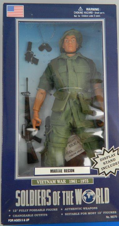 Marine Recon Vietnam War 1961 1975 12 Quot Action Figure Gi Joe
