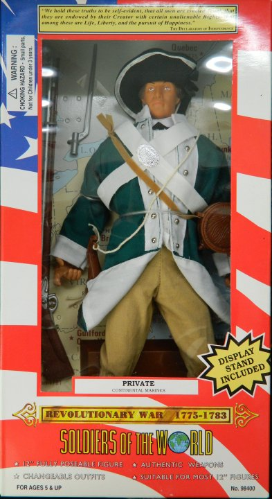 Private, Continental Marines, Revolutionary War 1775-1783