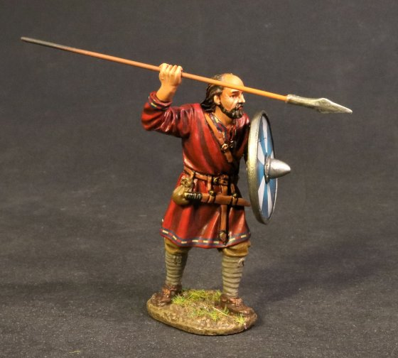 Saxon Fyrdman with Spear