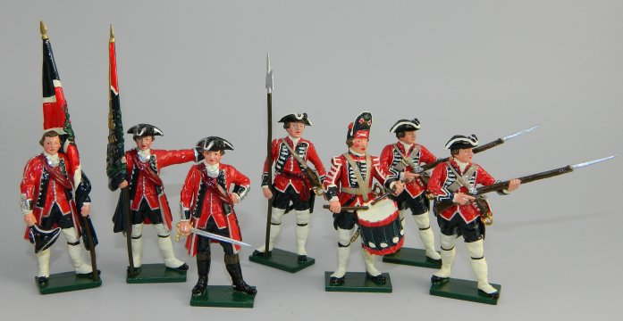 British Infantry - The Seven Years War