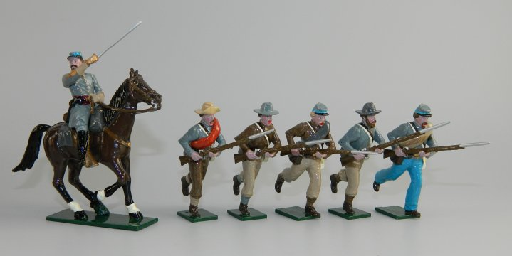 Confederate Infantry - American Civil War