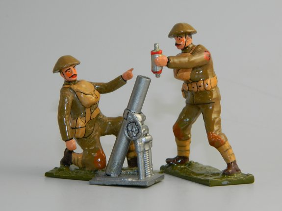 British Mortar Team