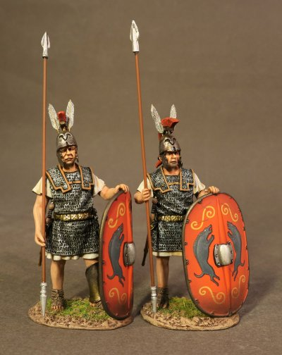 Two Triarii Standing, Roman Army of the Mid Republic