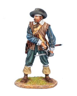 Spanish Tercio Musketeer without Musket