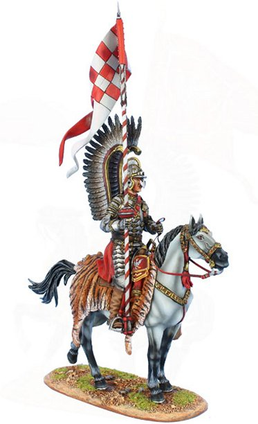 Polish Winged Hussar with Lance
