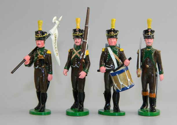 Four Napoleonic Soldiers